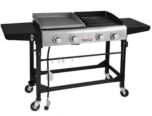 Royal Gourmet Portable Propane Gas Grill and Griddle