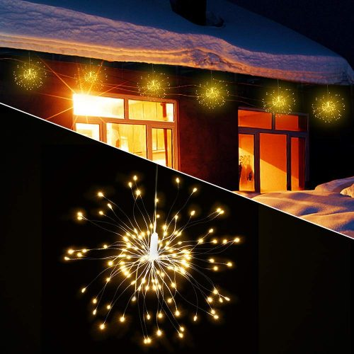 2 Pack LED Decorative Lights, 120 LED Dimmable Fairy Lights, Twinkle Starburst Lights