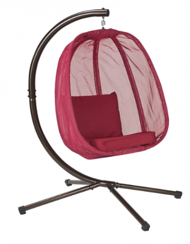 Flower House FHEC100-RD Egg Chair