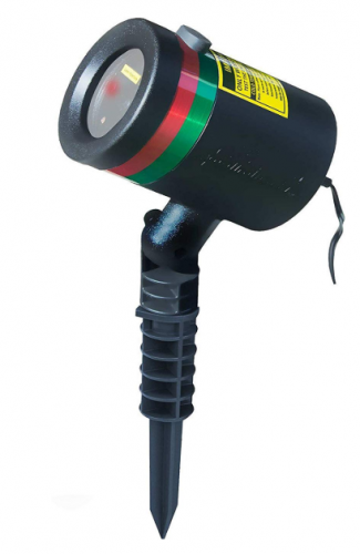 BulbHead Star Shower As Seen on TV Static Laser Lights Star Projector