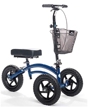 All Terrain KneeRover Steerable Knee Scooter Knee Walker Heavy Duty Crutches Alternative