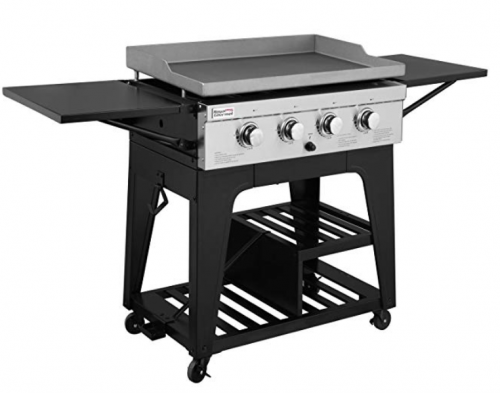 Royal Gourmet Regal GB4000 4 Burner Propane Gas Grill Griddle
