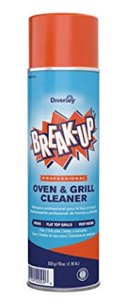 Diversey Break-Up Professional Oven & Grill Cleaner