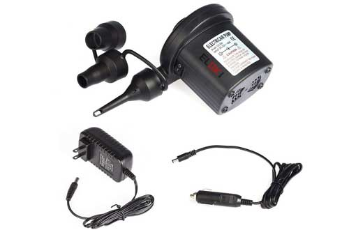 10V AC/12V DC 2 Way Quick-Fill Air Beds Pump