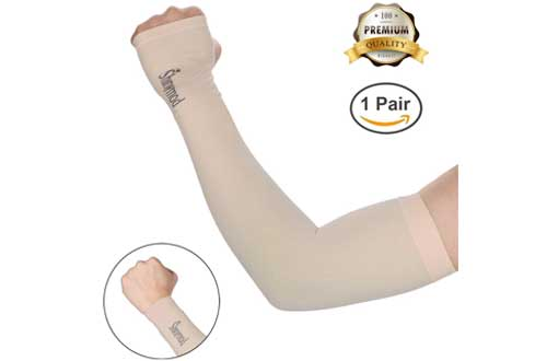 SHINYMOD UV Protection Cooling Arm Sleeves for Men