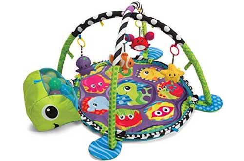Toddler Baby Turtle Mat Infantino 3-in-1 Grow With Me Activity Gym and Ball Pit