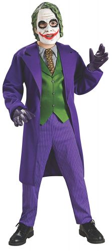 Batman The Dark Knight Deluxe The Joker Costume, Child's Medium