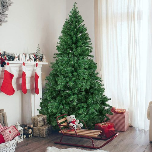 Best Choice Products Premium Hinged Artificial Christmas Pine Tree