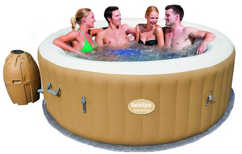 Bestway SaluSpa Hot Tub, One Of The Best Portable Hot Tubs And Spas