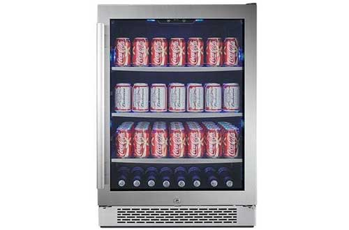 "Avallon ABR241SGRH 152 Can 24"" Built-In Beverage Cooler"