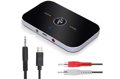 Bluetooth Audio Adapter- Cingk Bluetooth 4.1 Transmitter and Receiver