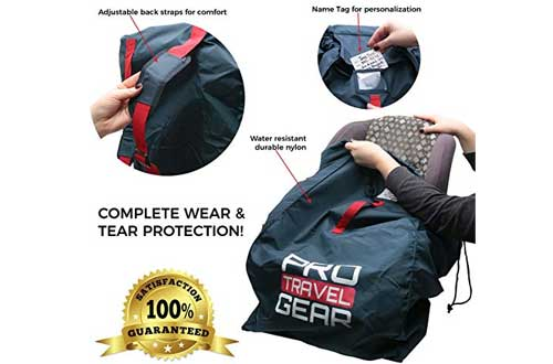 Pro Travel Gear Durable Car Seat Travel Bag