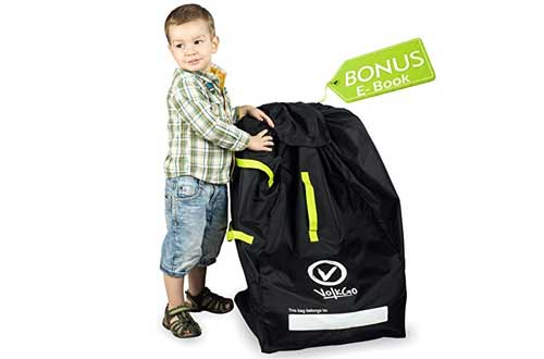 VolkGo DURABLE Car Seat Travel Bag with BONUS