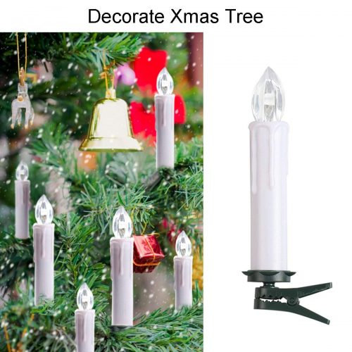 Celebration light Flameless Taper Candles Flickering LED Electric Candle Lights