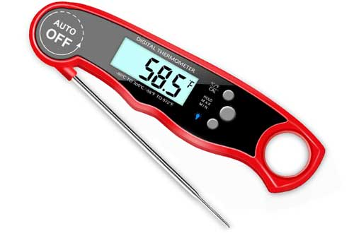 GDEALER Waterproof Digital Meat Thermometer