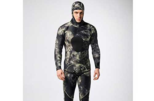 Mounchain Wetsuit Mens 3mm Camo Wetsuits