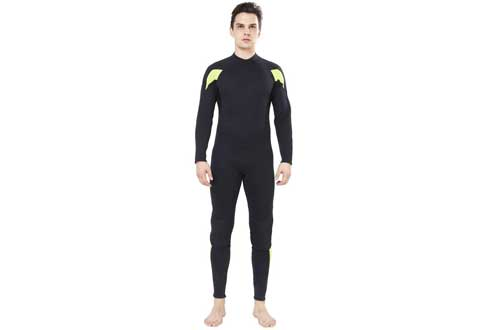 Dark Lightning Wetsuit Men Full Suit