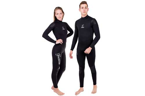 Neoprene Wetsuit for Scuba Diving