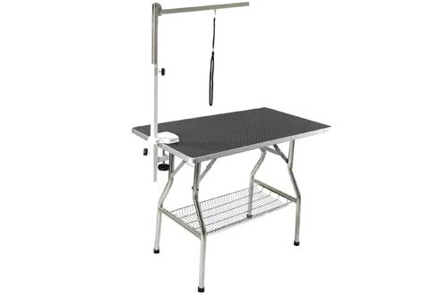 Stainless Steel Frame Foldable Dog Pet Grooming Table
