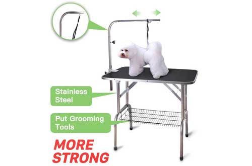 Pet Dog Cat Profession Dog Show Fold Grooming Table
