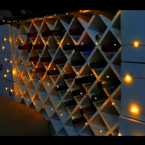 Ehome 100 LED Starry Fairy String Light - Stony Glow Christmas Lights for Window