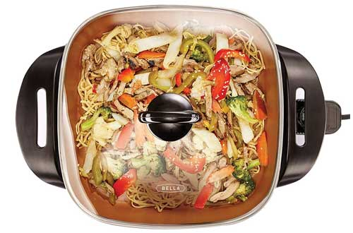 BELLA 12 x 12 inch Electric Skillet