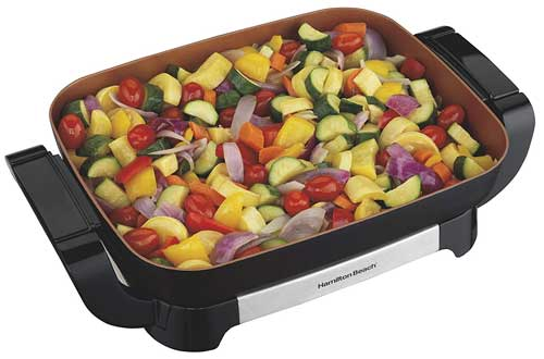 Hamilton Beach 38529 Electric Ceramic Skillet