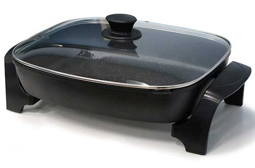 Non-stick Electric Skillet