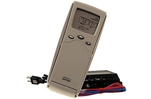 Fireplace and Fan Remote Control with Programmable Thermostat