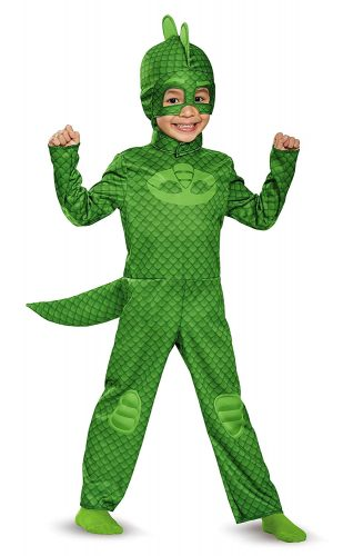 Gekko Classic Toddler PJ Masks Costume, Large-4-6