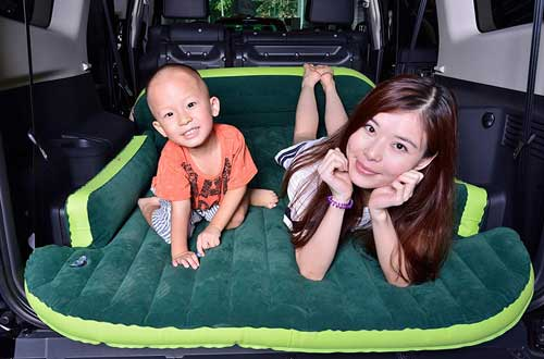 Back to 20s Heavy Duty Inflatable Car Mattress for SUV