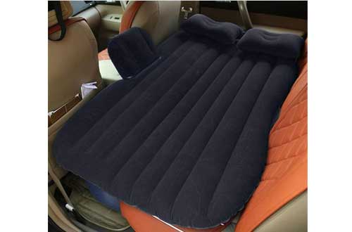Car Inflatable Mattress Car Bed Mobile Cushion Camping Air Bed