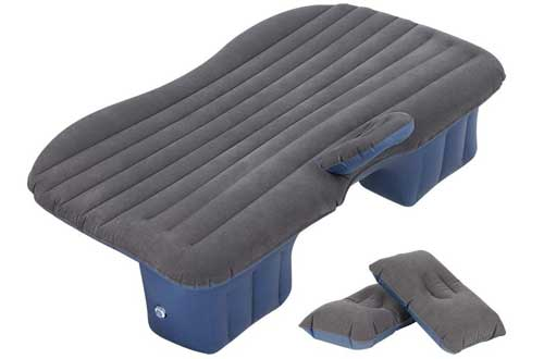 HAITRAL Travel Camping Inflatable Mattress for Car