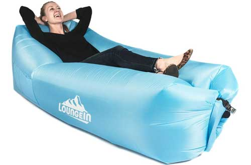 KyRush It Inflatable Lounger air couch chair sofa pouch