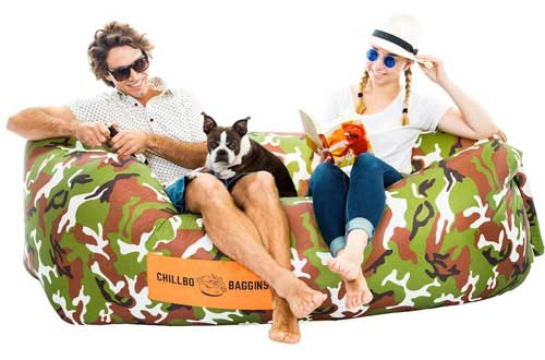 Inflatable Lounger Hammock Air Sofa