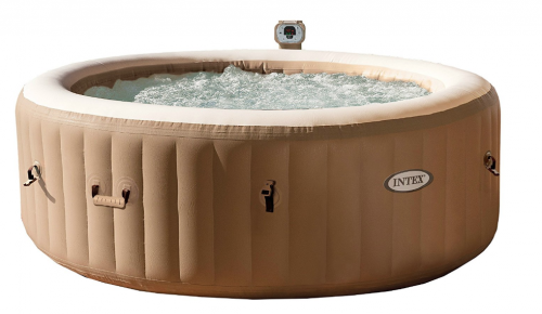 Intex 77-inc PureSpa Portable Bubble Massage Hot Tubs and Spas Set