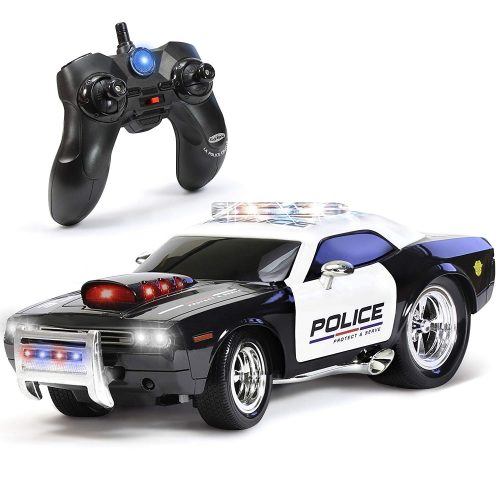 KidiRace RC Police Car Toy - Lets the Race Begin!