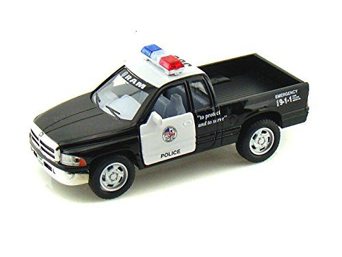Kinsmart Police Pickup Truck - Hand up Thieves; You Are Arrested!