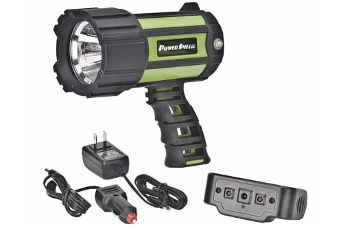 PowerSmith PSL10700W 700 Lumen Floatable Waterproof Rechargeable Lithium Ion Battery Powered Led SpotLight
