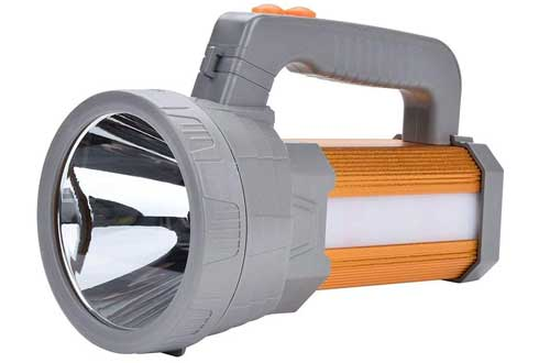 LED Searchlight USB Rechargeable Handheld Flashlight