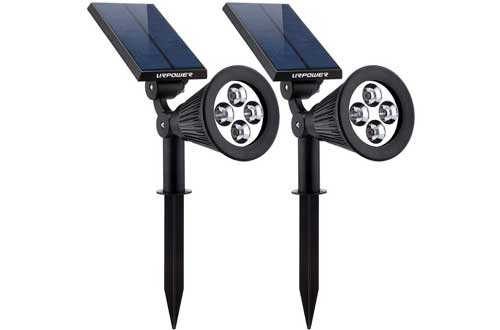 Waterproof 4 LED Solar Spotlight