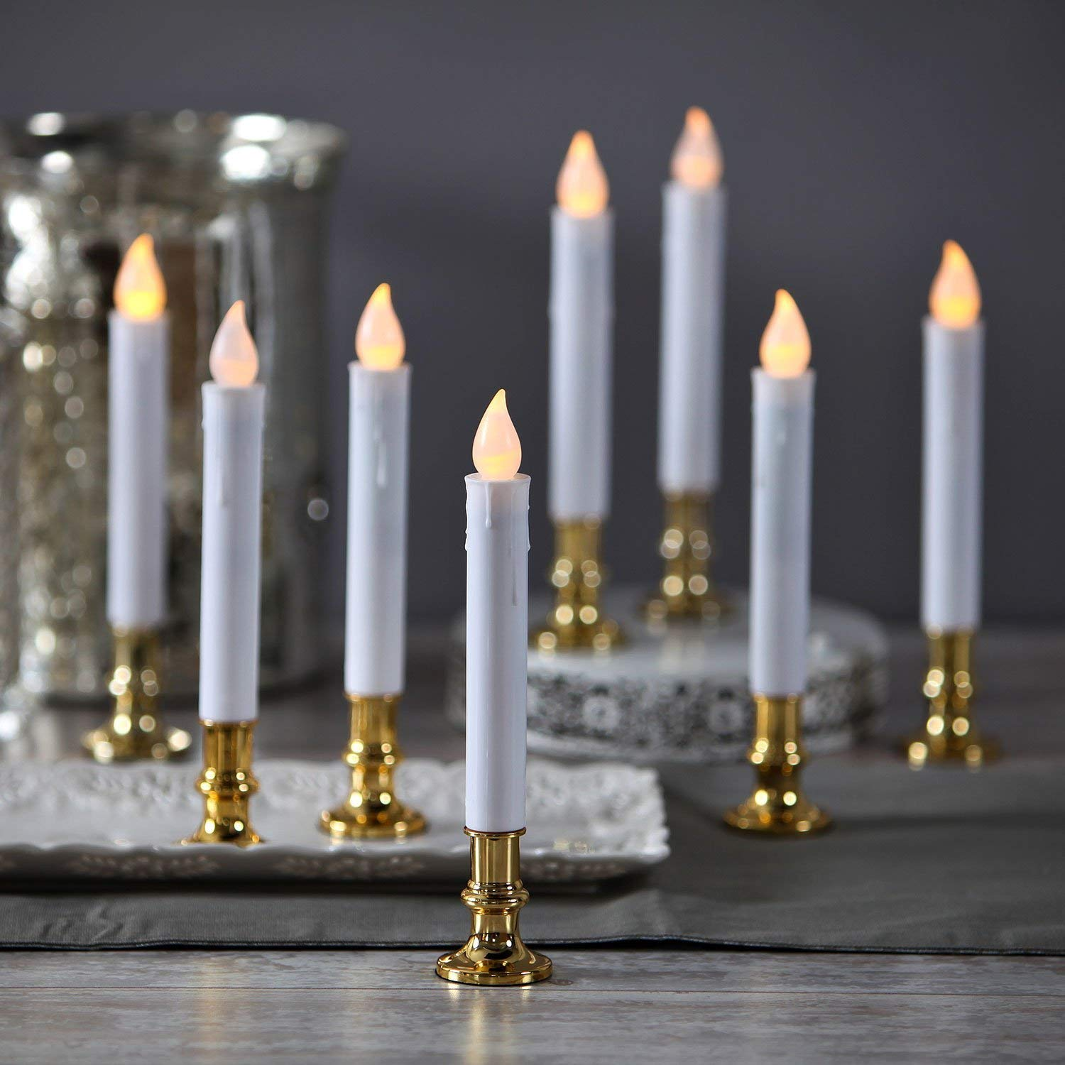 Christmas Window Candles.Top 10 Best Electric Candles For Christmas In 2019 Thez7