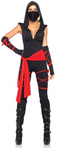 Leg Avenue Costumes 5 Piece Deadly Ninja Costume