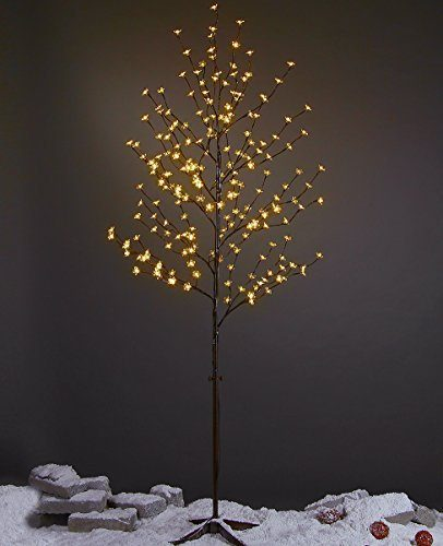 Lightshare 6 Feet Lighted LED Blossom Trees for Christmas
