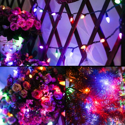 MAXINDA Outdoor LED String Lights Weatherproof Strawberry Lights: - the Great Color Combination