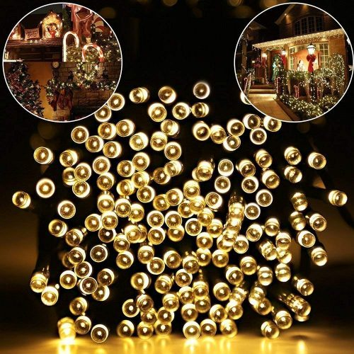 MZD8391 Upgraded Stay-On 66FT 200 LEDs Christmas String Lights Outdoor Indoor:-  Make a sense!