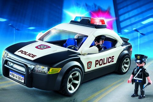PLAYMOBIL Police Cruiser - The Complete Police Car Toy