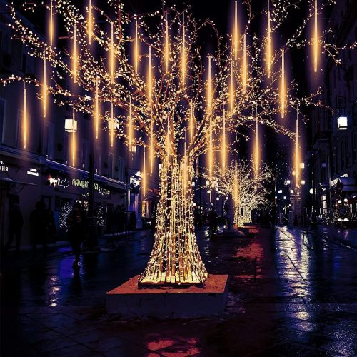 Pomelo tree 540 LED Meteor Falling Lights for Christmas or The Snowfall LED Christmas Lights Bright