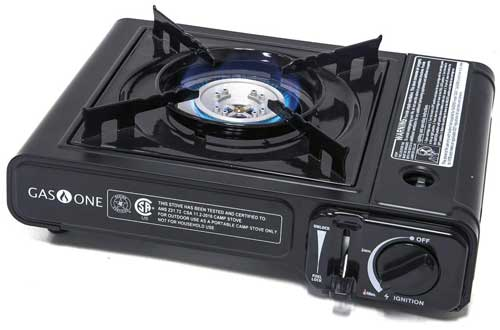 Portable Butane Gas Stove Automatic Ignition with Carrying Case