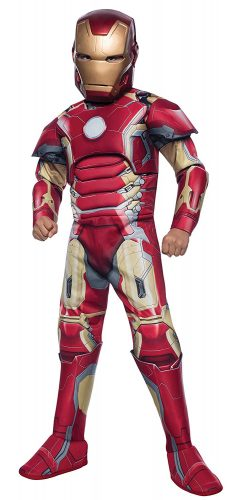 Rubie's Costume Avengers 2 Age of Ultron Deluxe Iron Man Mark 43 Costume, Medium